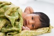 4 Horizontal baby portrait