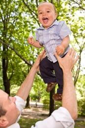 5 Flying boy in Central Park