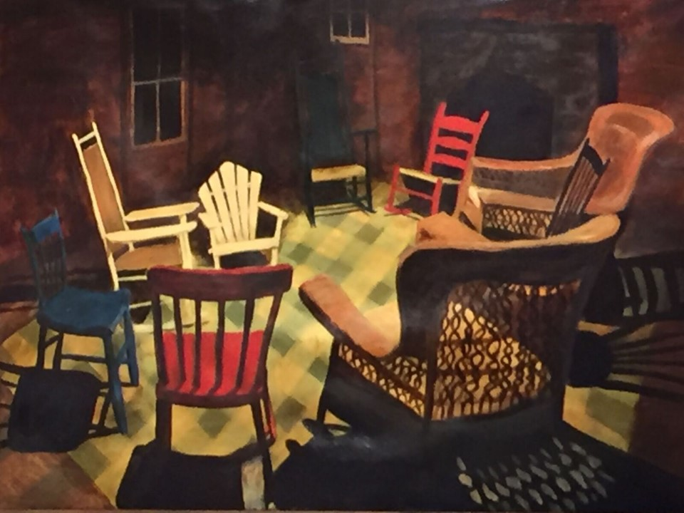 chairs painting