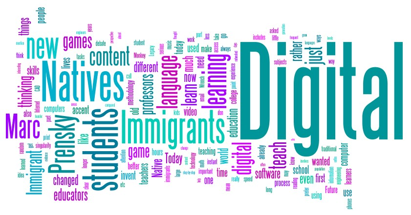 digital immigrants, digital natives