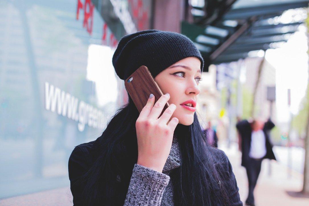 cellphone talking